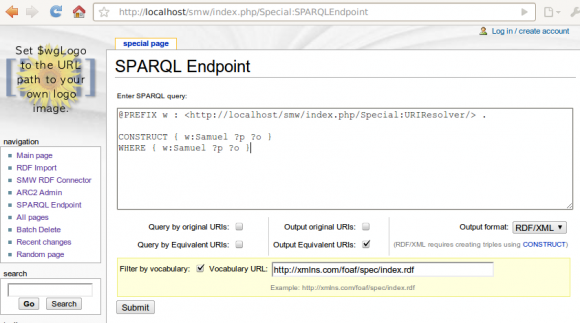 SPARQL Screen 0.3.0